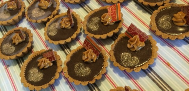 …part two, and those salted caramel chocolate tarts.