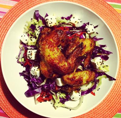 Crunchy Chicken Salad - Fehmz.com