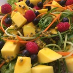 Summer Mango Passion salad